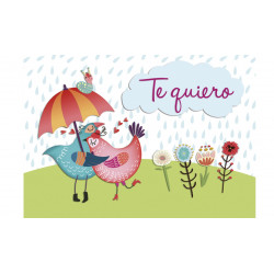MINI CARD -TE QUIERO- /27
