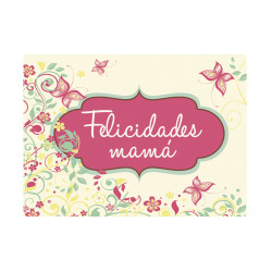 "MINI CARD ""ERES LA MAS GUAPA"""
