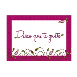 MINI CARD -TE QUIERO- /29