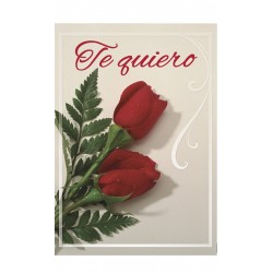MINI CARD -TE QUIERO- /24