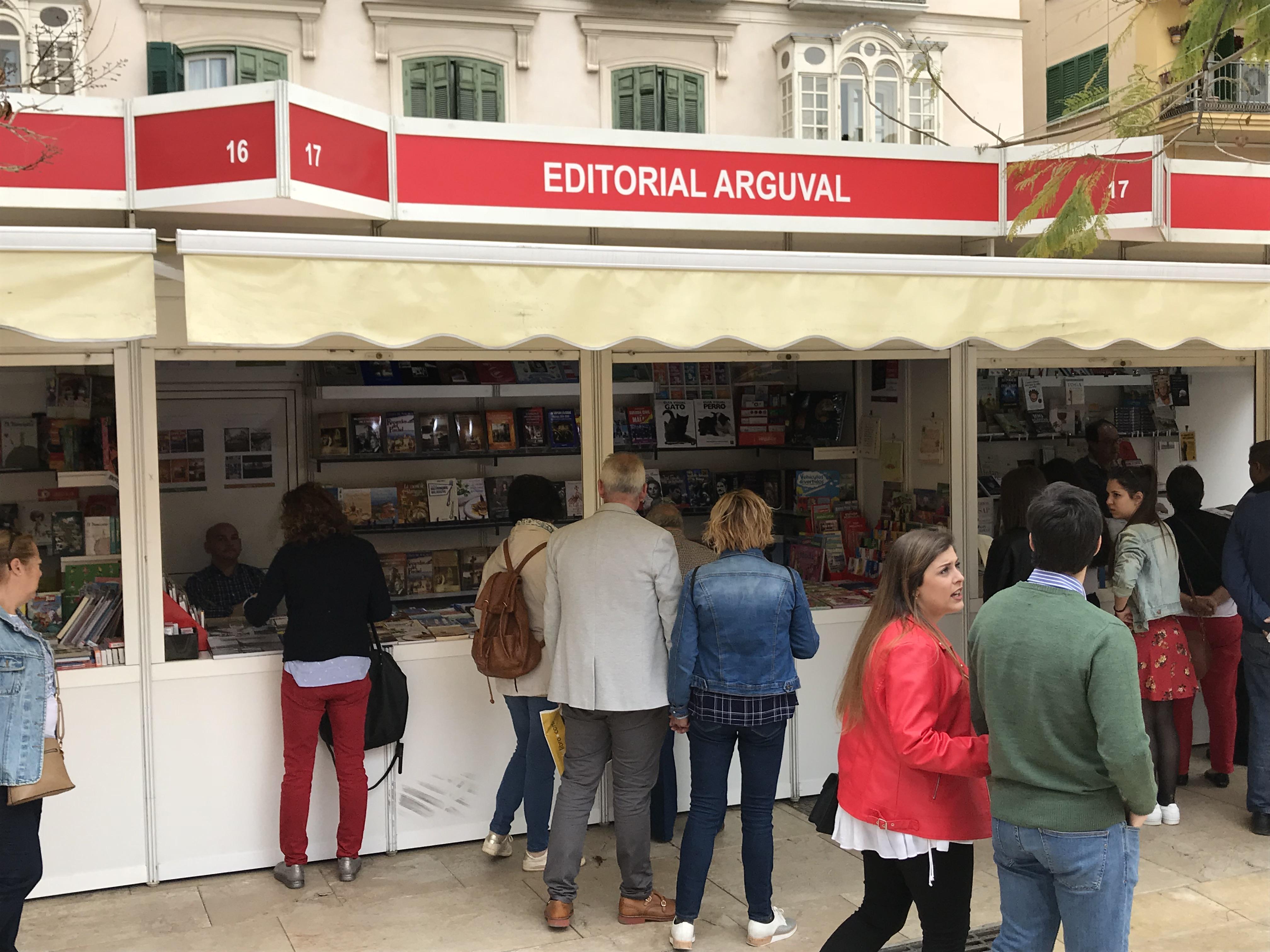 Arguval en la Feria del Libro de Málaga